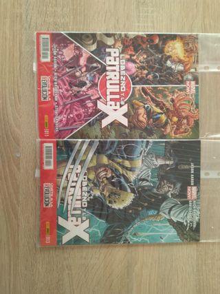 Comics Lobezno y la Patrulla X