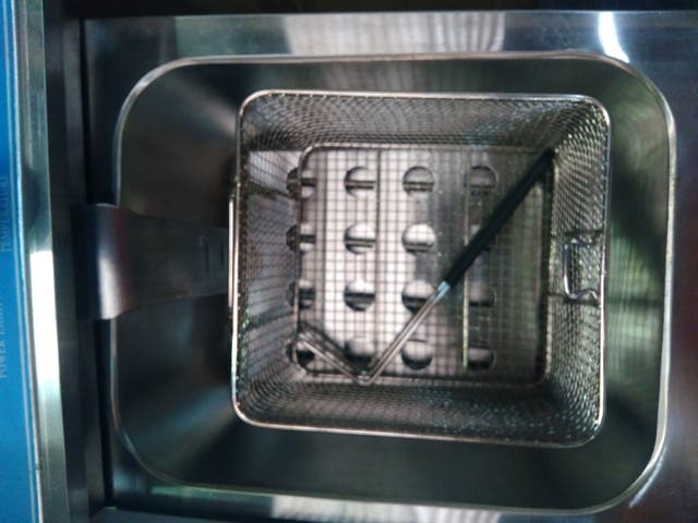 Freidora eléctrica 12+12 litros sobremesa con grif