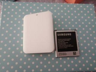 cargador y baterías Samsung s4