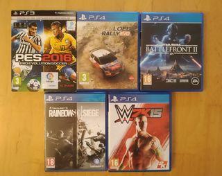 varios juegos Play 4