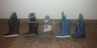 botas agua y nieve