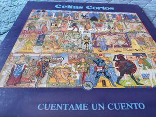 """Vinilo Celtas Cortos: """"Cuentame un cuento""""."""