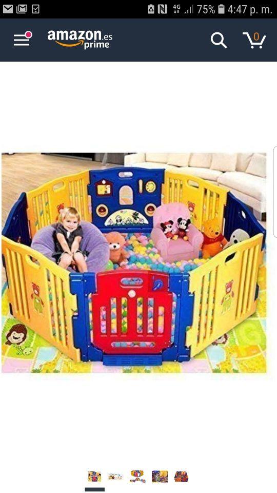 parque infantil gemelar xxl