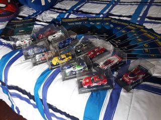 Coleccion 13 coches Leyendas de le Mans