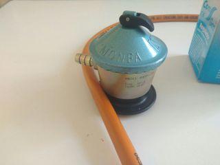 Regulador Gas butano más manguera