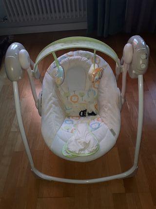 0698c7e61 Columpio bebé de segunda mano en Barcelona en WALLAPOP