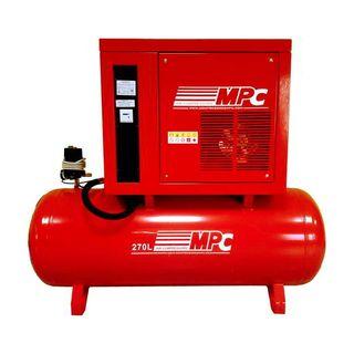 Compresor de aire 270 litros 4 kW insonorizado