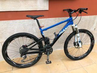 Bicicleta de montaña giant doble suspension