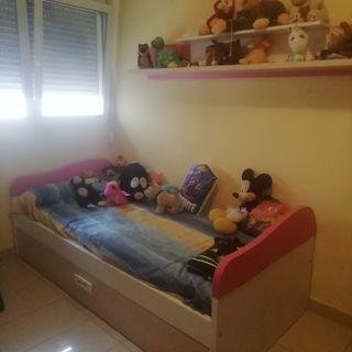 habitación juvenil niña