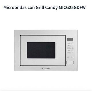 Microondas Encastrable Candy blanco 25l.