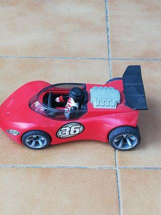 Playmobil coches de carreras