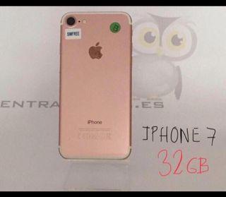 IPHONE 7 32GB ROSA (PERFECTO)