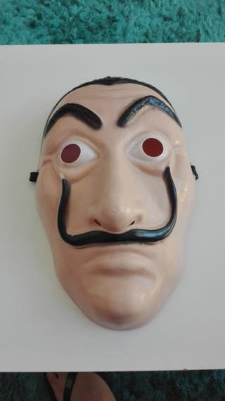 Máscara La casa de Papel.
