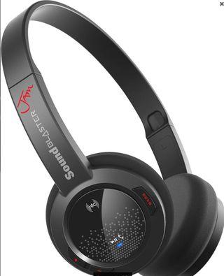 Auriculares Ultraligeros Bluetooth Creative 70GH03