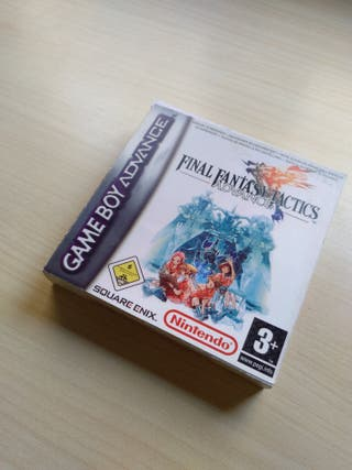 caja Final Fantasy Tactics Game Boy Advance REPRO