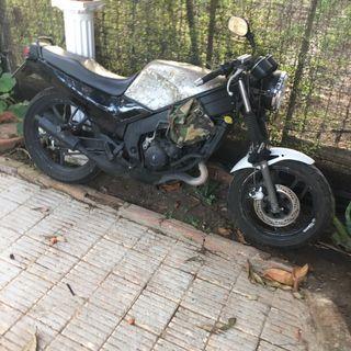 Yamaha tzr 125 de baja