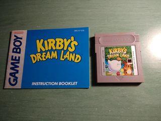 Kirbys dreamland + manual usa