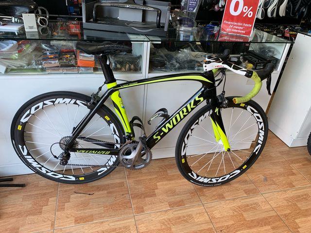 Bici carbono perfecto estado talla 54