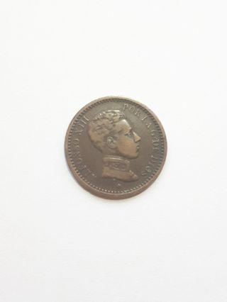 2 céntimos 1904