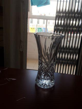 Jarrón de cristal de arques