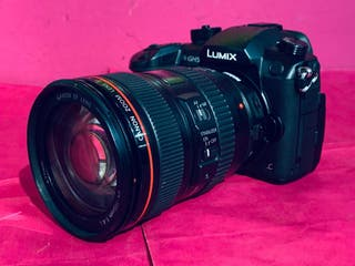 CAMARA REFLEX LUMIX GH5 4K/WIFI + OBJETIVO CANON