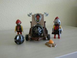 PLAYMOBIL DRAGON ROJO