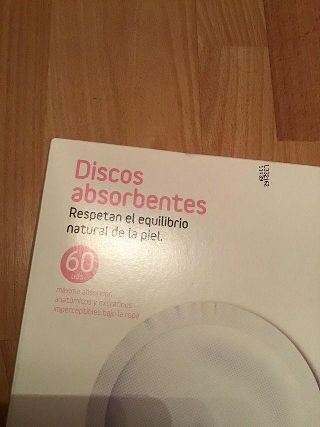 60 discos absorbentes de lactancia