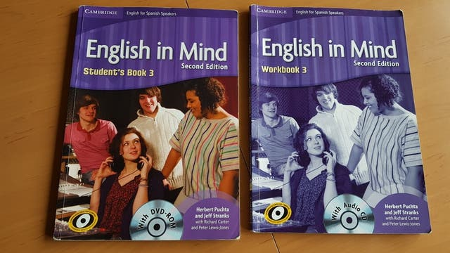 Libro Inglés. English in Mine Cambrige