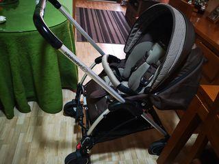 silleta bebé confort con capazo.