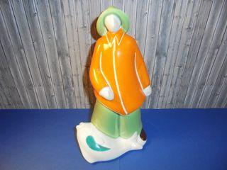 Figura de cerámica Galos