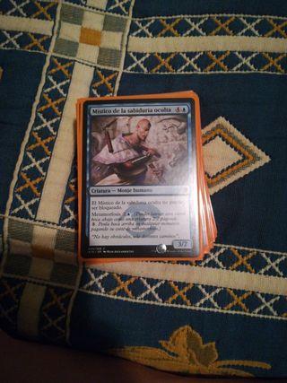 mazo de cartas magic.