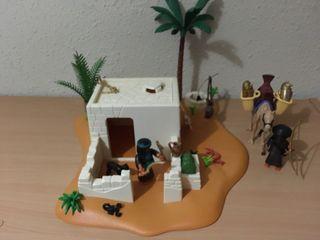 Casa egipcia playmobil