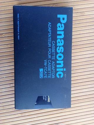 Panasonic VHS Cassette adaptor, adaptador cassette