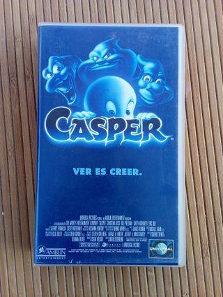VHS pelicula Casper