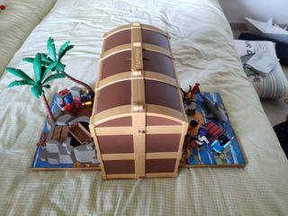 Baúl Playmobil Piratas