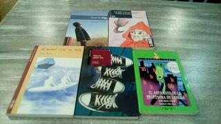 Libros de lectura Ingles, catalán y castellano