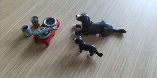 Perros Playmobil