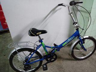 bici plegable.