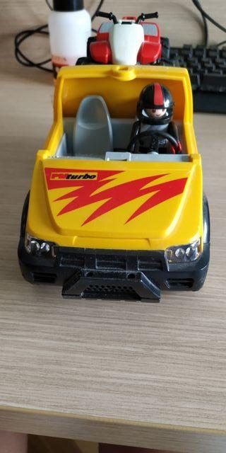 Pick Up con quad Playmobil 4228
