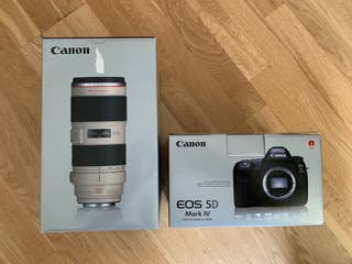 Canon 5d Mark IV + 70-200mm 2.8 L IS II USM