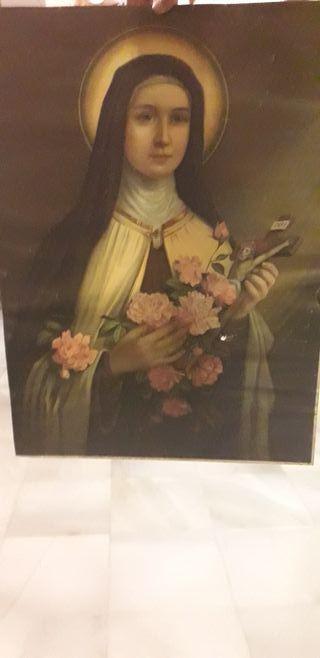 Lamina de Santa Teresa de Jesús