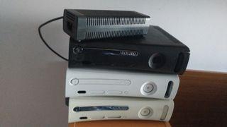 lote consolas Xbox 360 HDMI + cables
