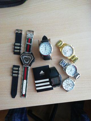 lote de 4 relojes con Adidas original