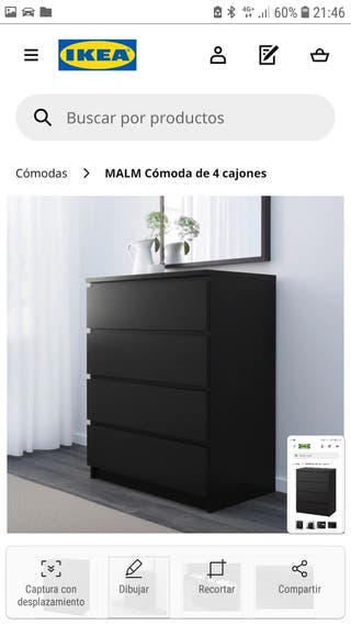 Cómoda Ikea Malm