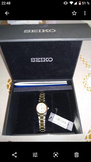 reloj chapado en oro nuevo