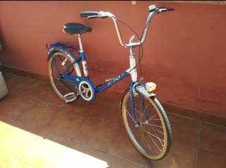 Bicicleta antigua, retro, vintage BH Gacela
