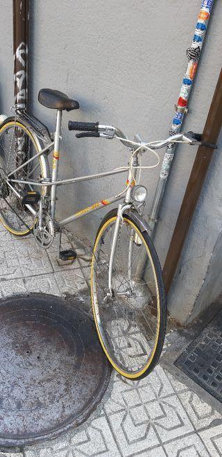 bicicleta antiguan de paseo