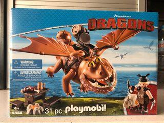 PLAYMOBIL DRAGONS BARRILETE Y PATAPEZ 9460