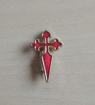 Insignia esmaltada orden de Santiago