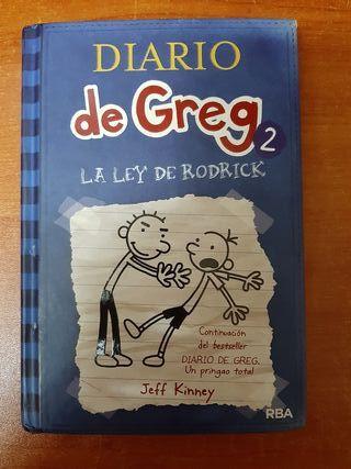 Libro El Diario de Greg 2